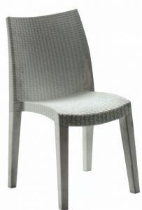 Lady, Chaise de jardin en résine