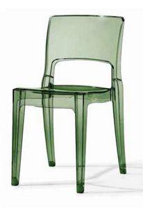 Mya, Chaise en plastique aussi pour usage extérieur