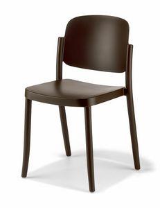 Piazza, Chaise en plastique résistant aux intempéries