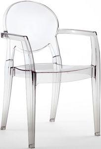 SE 2357, Toutes chaise en polycarbonate, pour pizzerias et des bars