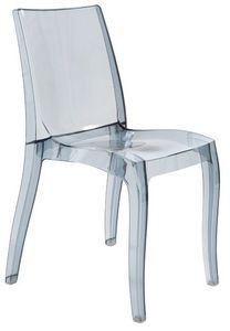 SE 6326, Chaise l�g�re en polypropyl�ne transparent, empilable