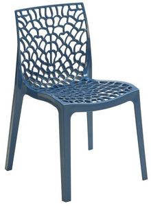SE 6316, Polypropylène chaise percée pour les bars et restaurants
