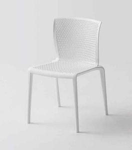 Spyker, Chaise empilable en plastique pour bars et restaurants