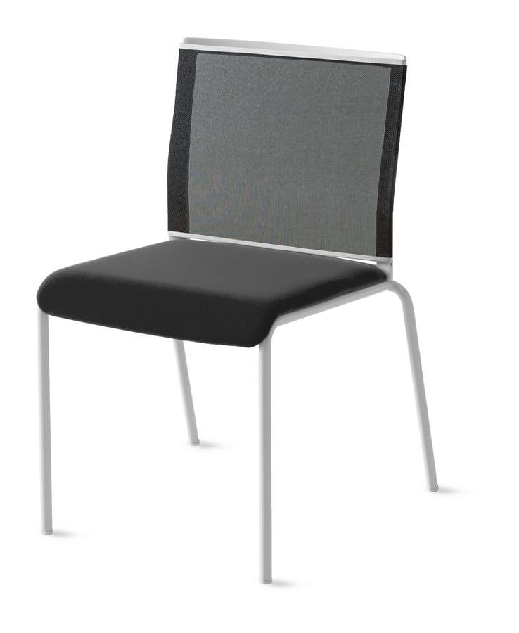 Teckel, Chaise avec dossier en filet