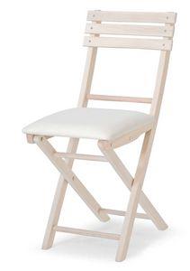 Ale Imb, Chaise pliante en hêtre, pour les événements et les partis