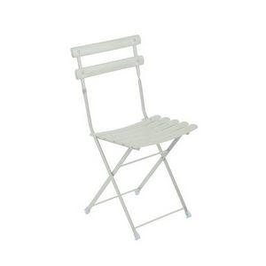 Arc En Ciel, Chaise pliante en acier peint pour l'extérieur