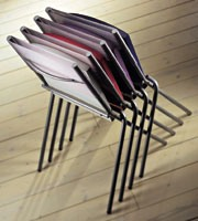 ART. 199 HELENA, Chaise empilable pour la cuisine, bon pour un gain de place