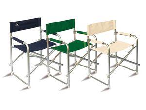CHAP01, Chaise de directeur en aluminium pour une utilisation en extérieur