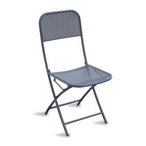 CHF71, Chaise pliante en acier peint, pour l'extérieur