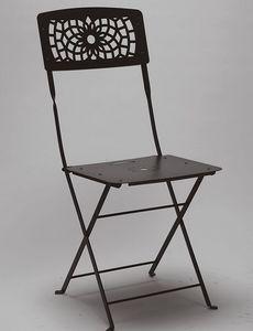 Gala, Chaise pliante en acier pour le jardin