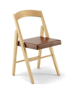 JL 11 chaise, Chaise pliante de sortie, en bois