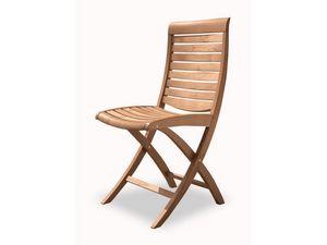 Mirage chaise pliante, Chaise pliante en bois, pour une utilisation extérieure