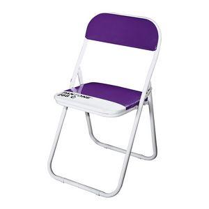 Pantone, Chaise rembourrée pliant, en acier, différentes couleurs