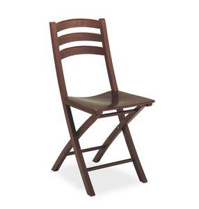 Quick, Chaise pliante en bois, par contrat et l'usage résidentiel