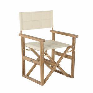 Regista 0310, Chaise de metteur en scène avec tissus rembourrés