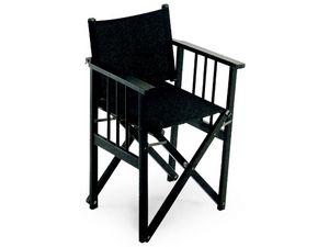 Regista D, Chaise pliante confortable, pour la restauration et conférences