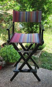Regista P Haut, Chaise de directeur avec des couleurs d'été