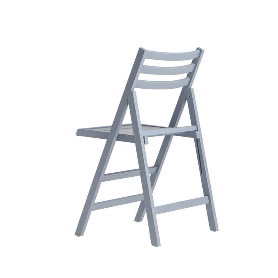 RP457, Chaise pliante, entièrement en bois