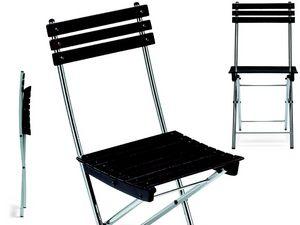 Spring, Gain de chaise, en métal et hêtre, pour l'extérieur