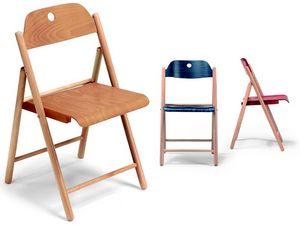 Stoppino, Chaises en bois, pliage, pour l'utilisation du contrat