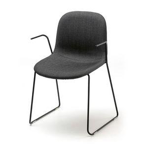 Máni AR-SL, Chaise empilable pour conférences, en tige d'acier