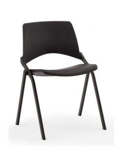Oplà, Chaise confortable, empilable, pour salle de conférence