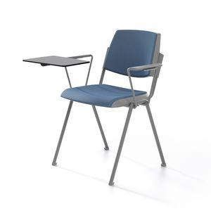 Wampa TAP, Chaise empilable, rembourré, des salles de réunion
