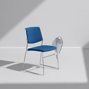 ZERO9 FILO, Chaise empilable, avec une structure légère et élégante
