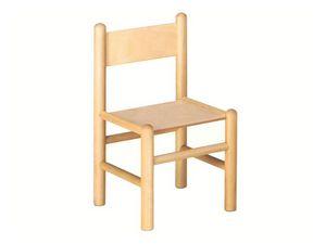 940, Chaise enfant, en bois de hêtre, adapté aux bancs de l'école
