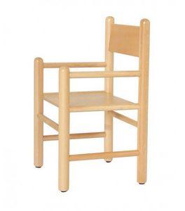 941, Chaise pour enfant avec accoudoirs, disponibles dans des couleurs