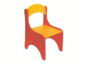 ARIEL, Chaise coloré pour les bébés, démontable, pour la maternelle