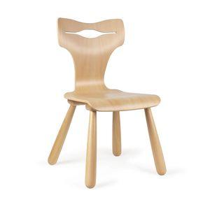 JOKER, Chaise en bois pour enfants