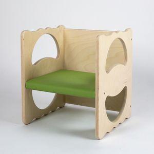VANITY/I, Chaise polyvalente, en bois, empilable
