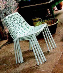 9008 Forest, Chaise empilable pour extérieur et intérieur