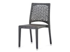 Altea chaise, Chaise avec motif floral tissé, pour l'extérieur et bar