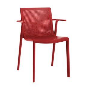 Kirama - P, Chaise avec accoudoirs, empilable, en polypropylène, pour les bars
