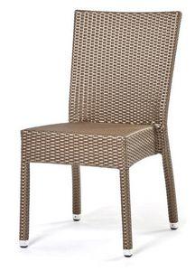 Lotus chiase, Chaise empilable, tissé à la main, à base d'aluminium
