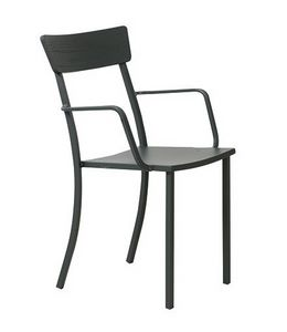 Mogan, Chaise avec accoudoirs pour jardin