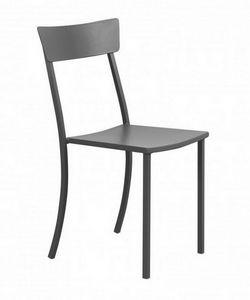 Mogan, Chaise de jardin en acier galvanisé
