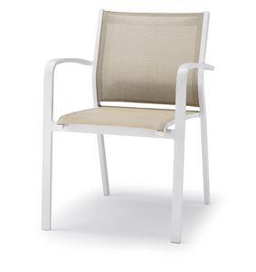 PL 468, Chaise en aluminium pour usage extérieur