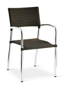 PL 732, Chaise en aluminium, empilable, tissé, pour les bars