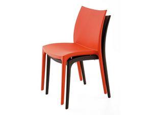 SE 161, Chaise tout en plastique de diff�rentes couleurs, pour ext�rieur