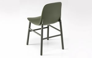 Sharky Alu Outdoor, Chaise en aluminium résistant aux intempéries