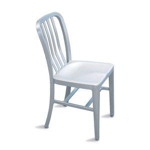 Trattoria chaise, Chaise en aluminium léger pour jardin et piscine