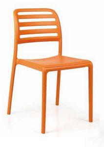 Vamp, Chaise en plastique, r�sistante aux intemp�ries