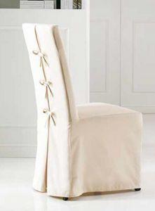 Antony-L, Chaise de salle à manger avec revêtement amovible