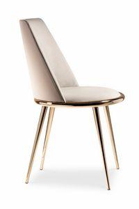 Aurora chaise, Président tout habillé, amovible, rembourré