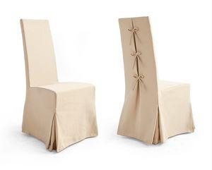 CORONA Art. 1169, Chaise avec jupe, en tissu Bellini, pour salle de banquet