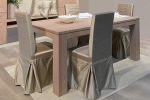 Gaia 121, Chaise habillée pour la salle à manger