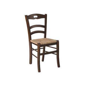 180, Chaise rustique avec assise en paille, pour des tavernes et des loges